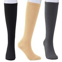 Extra Wide Medical Compression Socks Leg Swelling Circulation For Men Women Sock