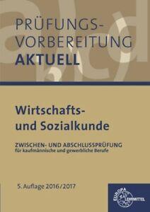 Prüfungsvorbereitung aktuell - Wirtschafts- und Sozialkunde: Zwischen- und  ...