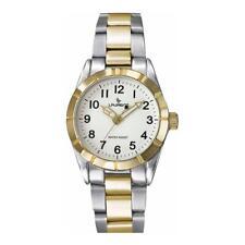 Reloj LAURENS 027038AA Acero Inoxidable Dorado Blanco Hombre Mujer Unisex