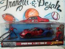 Jada Metals Diecast 1:24 Marvel Spiderman Spider-Man & 2017 Ford GT