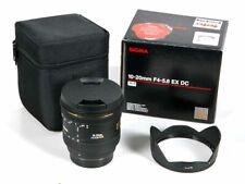 Sigma 10-20mm f4,0-5,6 EX DC für Pentax
