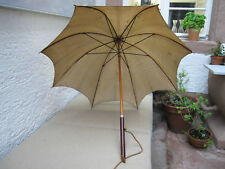 Alter Schirm aus Seide Paragon Jockey Umbrella Parasol