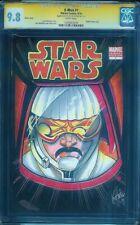 X-Men #1 CGC Graded 9.8 Ken Haeser Star Wars Sketch Marvel Comics 9/10