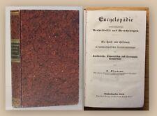 Kleemann Encyclopädie 1844 Medizin Wissen Studium Fachbuch Handbuch Lernen xy