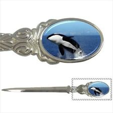 Killer Whale Orca Black Fish Chrome Letter Opener