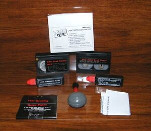Direct Power Plus (DPV-1001) Camcorder Cleaning Kit w/ Instructions **READ**