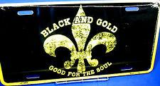 Novelty license plate New Orleans Saints Fleur De Lis New aluminum auto tag 4465