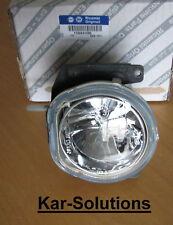 Fiat Front Fog Spot Lamp Light Lens Fiorino Qubo Peugeot Bipper Citroen Nemo New