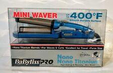 BABNT3350 BLUE MINI WAVER FOR HAIR BABYLISS PRO NANO