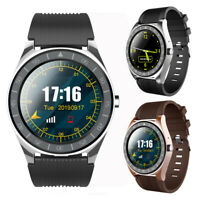 V5 Smart Watch Blood Pressure Monitor Heart Rate Supports SIM Card Remote Camera