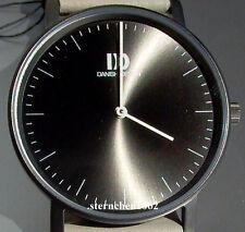 Danish Design * Damenuhr * Stahl * Lederband * Quarz * Ref. 3324570 *