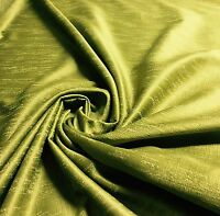 SUPER LUXURIOUS OLIVE GREEN JACQUARD CURTAIN FABRIC 5 METRES