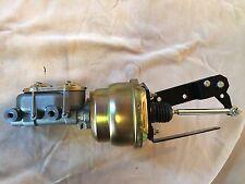 "1955-59 Chev GMC pickup 7"" dual diaphragm power brake booster master cylinder"
