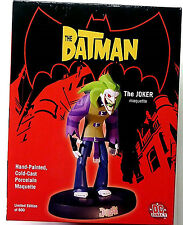 The Batman : The Joker Animated Maquette Statue New 2005 Limited  DC Comics