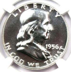 1956 PROOF Franklin Half Dollar 50C Coin - NGC PR69 (PF69) - $460 Value!