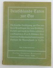 Buch: 8. Band der Montanusbücher, Deutschlands Taten zur See, Nautik e757
