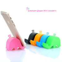 2pc Cute Elephant Desk Stand Holder Stand for Tablet iPhone Mobile Mini Portable