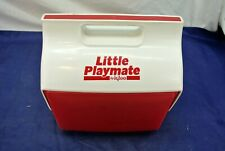 LITTLE PLAYMATE BY IGLOO, RED/WHITE, 1980'S