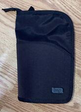 Nwot Lug Travel Canoe Make-up Brush Holder Case Black Very Durable