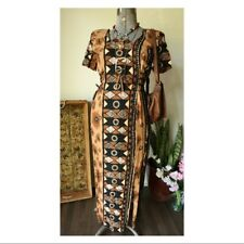 Vintage Marnie West Maxi Ethical Boho Dress Size 7-8