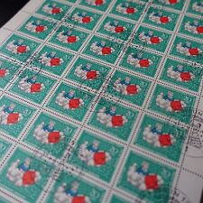 feuille sheet Bogen Deutschland berlin Nr.286 x50 1967 neuf 1. Tag first day