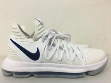 c7670c31532b Nike Zoom KD10 Numbers White Game Royal Golden State Warriors 897815-101  Size 9