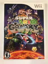 Super Mario Galaxy - Nintendo Wii - Replacement Case - No Game
