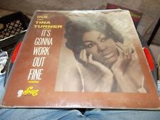 IKE AND TINA TURNER LP IT'S GONNA WORK OUT FINE SUE LABEL