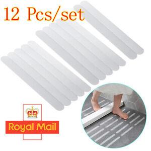12X/Pack Bathtub Anti Slip Bath Grip Stickers Shower Strip Pad Floor Safety Tape