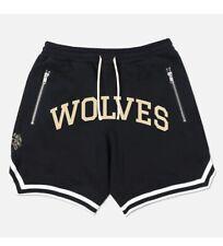 Darc Sport Wolves Club Court Shorts Black Size Large Bodybuilding Clothes