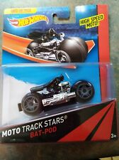 Bat-Pod 2013 Hot Wheels Batman MOTO Track Stars Bat Pod High Speed Motorcycle