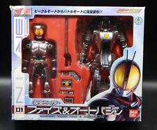 2003 Bandai KAMEN RIDER 555 Masked Rider FAIZ & AUTO VAJIN figures TOKUSATSU !!!