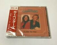 """The Carpenters SEALED BRAND NEW CD """"Close To You"""" Import Japan OBI"""