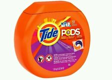 2 Tide Pods Spring Meadow Scent Laundry Detergent Pacs 72 ct