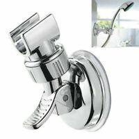 Adjustable Shower Head Holder Bathroom Suction Cup Wall Mount Bracket Holders