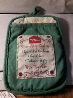 Vintage Better Homes and Gardens pot holder friendship cookie recipe