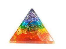Se7En Chakra Chakra Layer Orgone Pyramid Chokurei 1 Piece