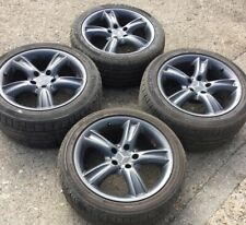 "MERCEDES CLK W209 17"" SAIPH ALLOY WHEELS STAGGARD SET A2094010302 A2094011302"