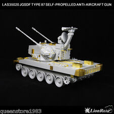 LionRoar PE details 1/35 JGSDF TYPE 87 SELF-PROPELLED ANTI-AIRCRAFT GUN