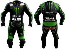**NEW** YAMAHA MONSTER LEATHER MOTORBIKE SUIT [PREMIUM QUALITY] COWHIDE LEATHER!