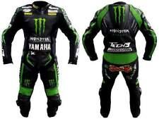 ** nuevo ** Yamaha Monster cuero moto traje de cuero de vaca] [Premium Calidad!