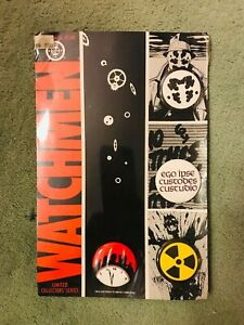 Watchmen Button Pin Set - Vintage DC Limited Collectors Series (1986) *UNOPENED*
