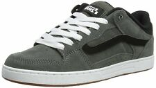 VANS BAXTER (S12) CHARCOAL SUEDE SKATE SHOES GREY GRAY SZ 13 MENS NEW NIB