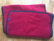 Men's Gant Fleece Scarf Red NOT ITCHY Warm Winter