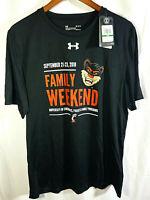 Under Armour UA HeatGear Loose Fit Tee T-Shirt University of Cincinnati-Men's LG