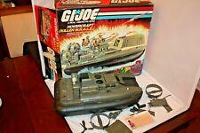 Vintage Hasbro GI JOE Killer Whale HOVERCRAFT 1984 ARAH w Box