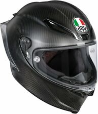 CASCO INTEGRALE AGV PISTA GP R - SOLID MATT CARBON TAGLIA L