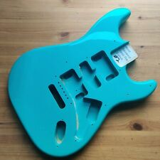 More details for b-stock guitar body basswood strat stratocaster style seafoam green #2