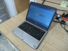 New listing Toshiba Satellite A75 Laptop 4 Parts Booted Windows Hard Drive Wiped A75-S206