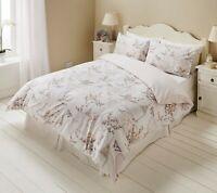 Romantic Reversible Duvet Covers Set & Pillowcases Single Double King Super King